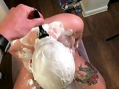 POV shaving sneak peak flick
