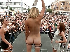 Folsom Street Spectacle The Ultimate Dehumanization Of Mona Wales - PublicDisgrace