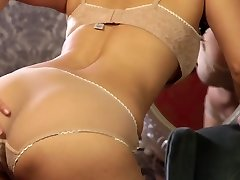 Utter of lust and passion dark haired Sunny Leone gets rid of lingerie and masturbates
