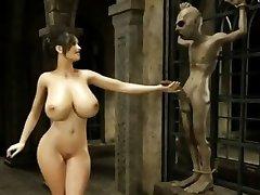 Three Dimensional Alien Revenge - FreeFetishTVcom