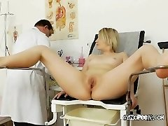 Doctor Peaks Deep Inside Graces Pussy