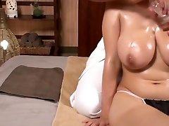 Airu Oshima Lubricant Massage