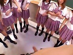 Amazing Japanese girl Michiru Hoshizora, Miyuki Yokoyama, Minami Yoshizawa in Ultra-kinky Group Sex, Point Of View JAV flick