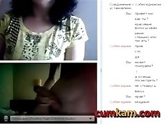 45yo Mature Dame Milking with my penis in Omegle (2016)-cumkam.com