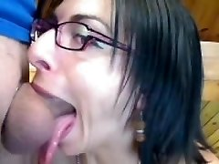 Gorgeous French No-Gag deepthroat
