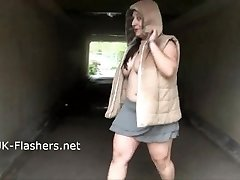 Crazy amateur flashers public masturbation and solo exhibitionist milf