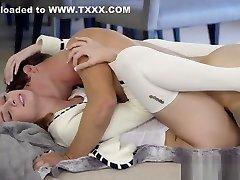 Babysitter Aspen Ora gets a immense dick in her ass
