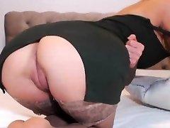 Curvy Woman With Big Tits Solo Masturbation