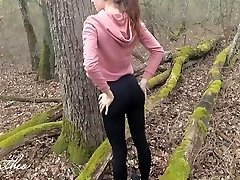 Forest Running, Anal Poking, Public Cumming