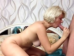 Cutie Russian Amateur Girl Makes Bj and Cum in Jaws
