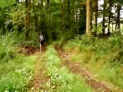French Teen Porked In The Woods