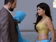 Very Sexy Blue Saari Removing n Kissing Very Very Romantic Cool
