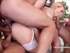 PMV - Siski - Hardcore Anal - Triple Buttfuck