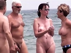 Awesome Nudist Group Hidden Cam Beach Amateurs Video Part 1