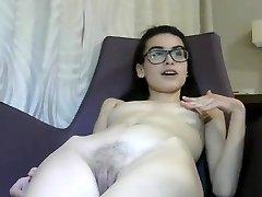 Tiny 18 yr Italian Webcam Girl Masturbates-1
