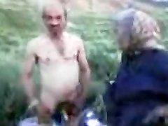 Grandpa and Granny Outdoor