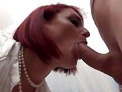 La Cochonne - Amateur French redhead in dirty assfuck fuck