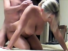 Homemade large tits milf and husband real fuck