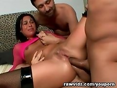 Rough Double Anal Invasion Penetration Gangbang