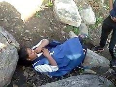 Caught Village Paki Couples Outdoor Banging