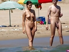 Jerk off challenge to the hit - Nudist Couples