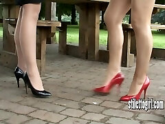 Show your love of stiletto girls and appreciate their heels