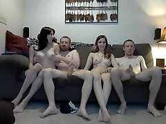 Beautiful Amateur Shemale movie with Big Dick, Swingers scenes