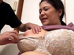 Big Jugs Chubby Hairy Mature Has Sex Outdoor