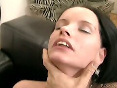Culo brunette with ugly teeth gets fucked doggy style