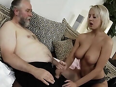 Teen smashed by hot old man sugar daddy