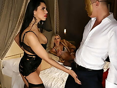 Glamour dolls drilled intensly