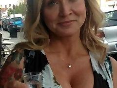Quick jerk off compilation granny cleavage big tits