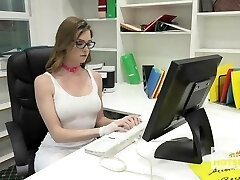 Gorgeous Office Super-bitch Gets Destroyed By Random Dude Off the I