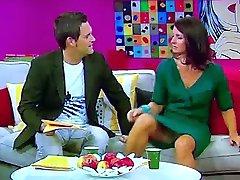 मार्लिन Lufen जर्मन टीवी होस्ट करते दिखायी