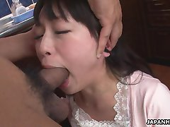 Busty Asian housewife used for some sexual desires