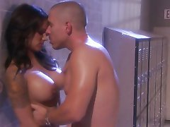 Sexy shower fuck with hot babe Nadia Styles