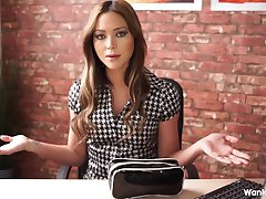 Natalia Forrest office blackmail HD