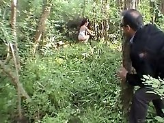 LAETITIA ATOMIX French MILF in the woods