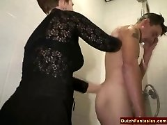 Ugly Dutch Granny Pounds Office Fellow