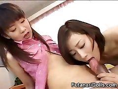 Young Futanari Sitters!
