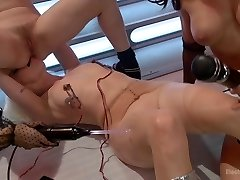 Lorelei Lee Aiden Starr Chanel Preston Ariel X in Barbarella Vs The Electrical Dolls - Electrosluts