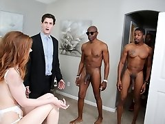Pepper Hart Interracial Anal Gangbang - Cheating Sessions