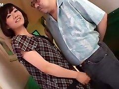 Horny Japanese chick Manami Komukai in Splendid Hj, Cumshot JAV scene