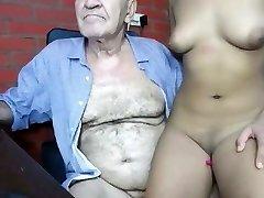 grandpa romul fucking young female