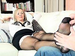 Nylon foot Full load jerks