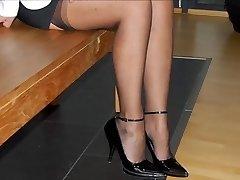 Feet & HEELS OF MY Hooker WIFE -- mdm