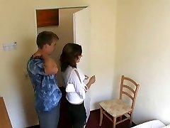 Covert cam in german hotelroom