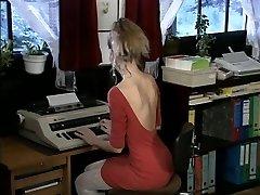 Debbie, steaming office fuck