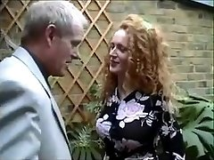English sandy-haired Nicole gets caught smoking a joint