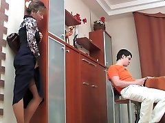 mother watched and then fuck a guy Two